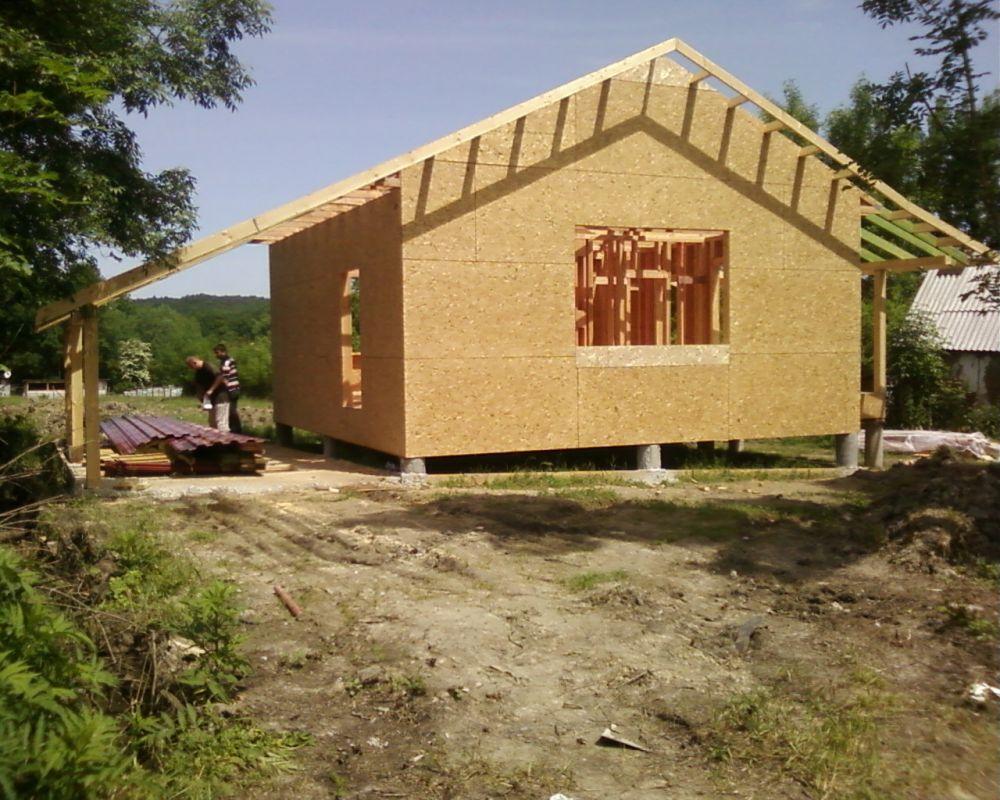 Как построить дом из осб фото 24